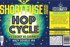 Short Fuse - Hop Cycle Vic Secret Vs Cashmere Hazy Double Ipa