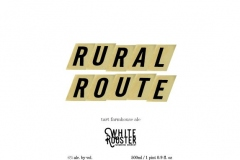 White Rooster Farmhouse Brewery - Rural Route