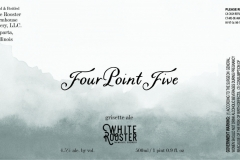 White Rooster Farmhouse Brewery - Four Point Five