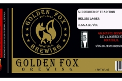 Golden Fox Brewing - Surrender of Tradition