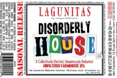 The Lagunitas Brewing Company - Disorderly House
