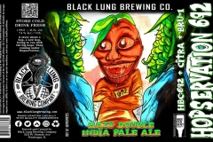 Black Lung Brewing Company - Hopservation 692