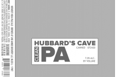 Hubbard's Cave - Clean Pale