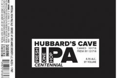 Hubbard's Cave - Fresh Iipa One Hop Centennial