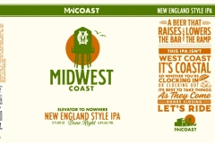 Midwest Coast Brewing Company - Elevator To Nowhere New England Style Ipa