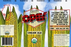The Old Bakery Beer Company - Ope! Cream Ale