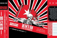 Revolution Brewing - Deth's Tar