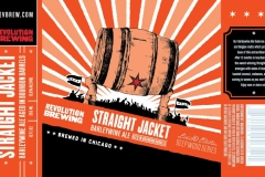 Revolution Brewing - Straight Jacket