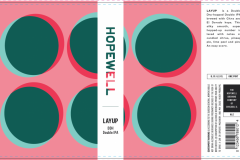 The Hopewell Brewing Co - Layup Ddh Double Ipa