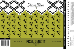 Phase Three Brewing Company - Pixel Density