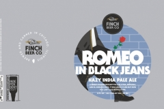 Finch Beer Co. - Romeo In Black Jeans Hazy India Pale Ale