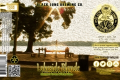 Black Lung Brewing Company - Lakeside Blonde