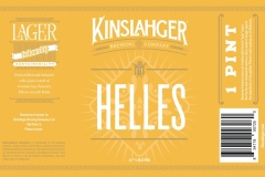 Kinslahger Brewing Company - Helles