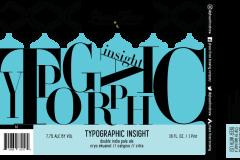 Phase Three Brewing Company - Typographic Insight