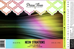 Phase Three Brewing Company - Neon Striations