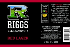 Riggs Beer Company - Red Lager