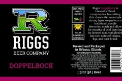 Riggs Beer Company - Doppelbock