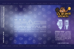 Lil Beaver Brewery - M.e.d. Space Crystals