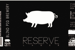 The Blind Pig Brewery - Reserve
