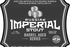 Holzlager Brewing Company - Russian Imperial Stout Barrel Aged Series