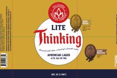 Pollyanna Brewing Company - Lite Thinking