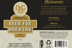 Oswego Brewing Co. - Beer For Brewers