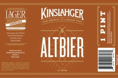 Kinslahger Brewing Company - Altbier
