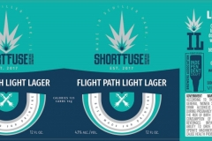 Short Fuse Brewing Company - Flight Path Light Lager