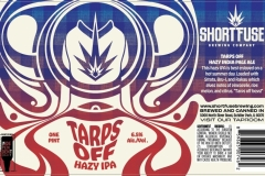 Short Fuse Brewing Company - Tarps Off Hazy Ipa