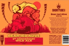 Short Fuse Brewing Company - Bear-ied Alive 3rd Anniversary Wild Ale