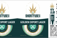 Short Fuse Brewing Company - Golden Export Lager