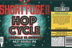 Short Fuse Brewing Company - Hop Cycle Amarillo Vs Chinook