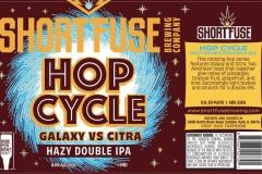 Short Fuse Brewing Company - Hop Cycle Galaxy Vs Citra Hazy Ipa