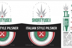 Short Fuse Brewing Company - Italian Style Pilsner