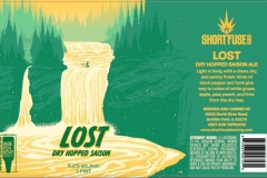 Short Fuse Brewing Company - Lost Dry Hopped Saison