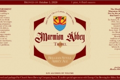 Church Street - Marmion Abbey Tripel