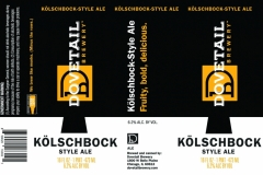 Dovetail Brewery - KÖlschbock-style Ale