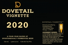 Dovetail Brewery - Vignette 2020