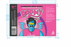 Illuminated Brew Works - Brony Double Dry Hopped Double India Pale Ale