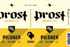 Prost Brewing Co. - Pilsner North German Style Lager