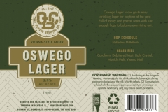 Oswego Brewing Co. - Oswego Lager