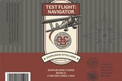 Oswego Brewing Co. - Test Flight: Navigator
