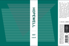 The Hopewell Brewing Company - As If Double Ipa