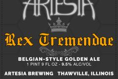 Artesia Brewing - Rex Tremendae