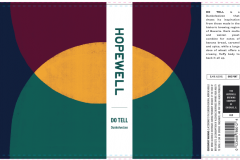 The Hopewell Brewing Company - Do Tell Dunkelweizen