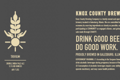 Knox County Brewing Co - Trivium