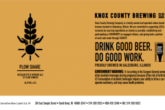 Knox County Brewing Co - Plow Share