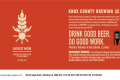 Knox County Brewing Co - Harvest Moon