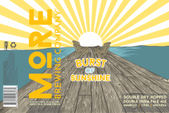 More Brewing Company - Burst Of Sunshine