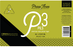 Phase Three Brewing Company - P3 Pils